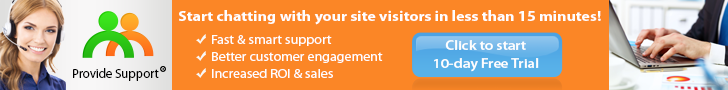 Start chatting with your site visitors in less than 15 minutes!
